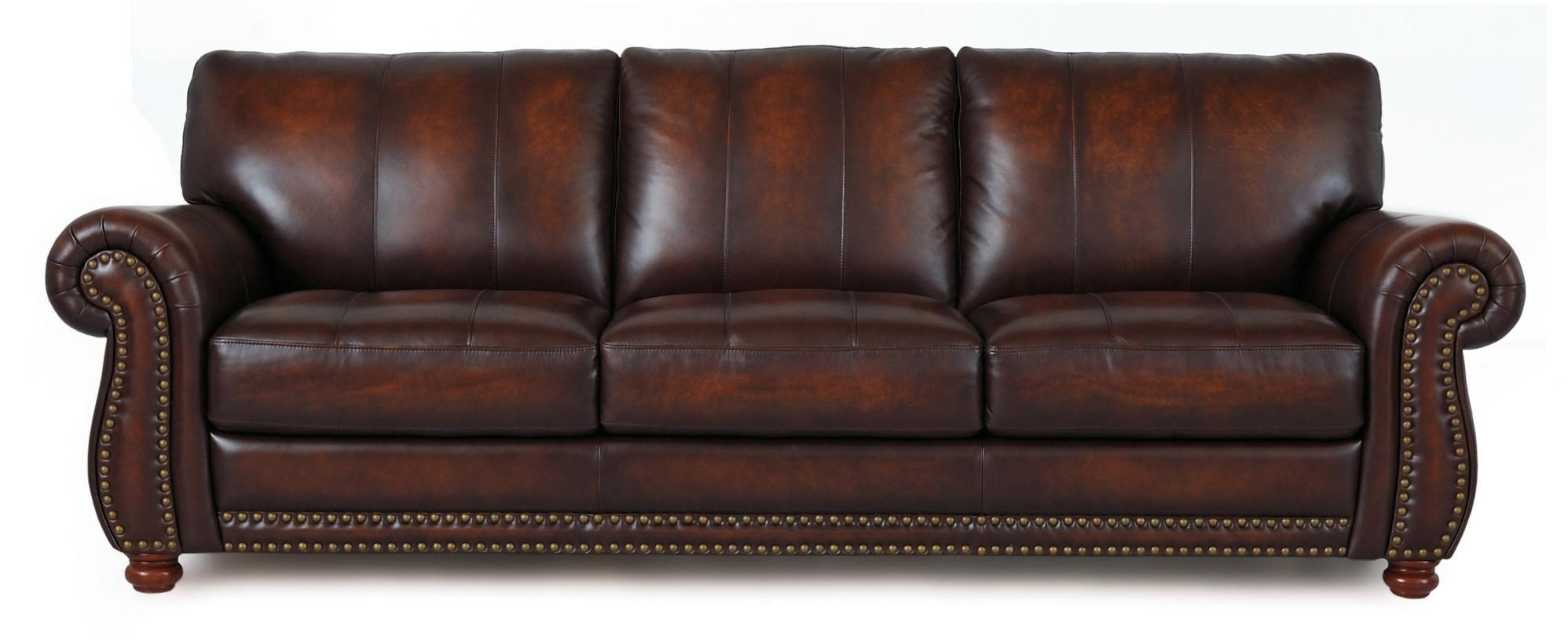 Futura Leather Futura LeatherTraditional Leather Sofa