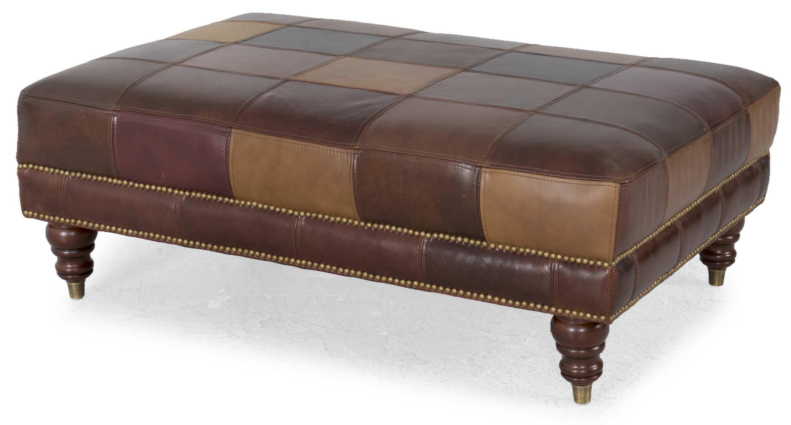 Delicieux Futura Leather G162Ottoman
