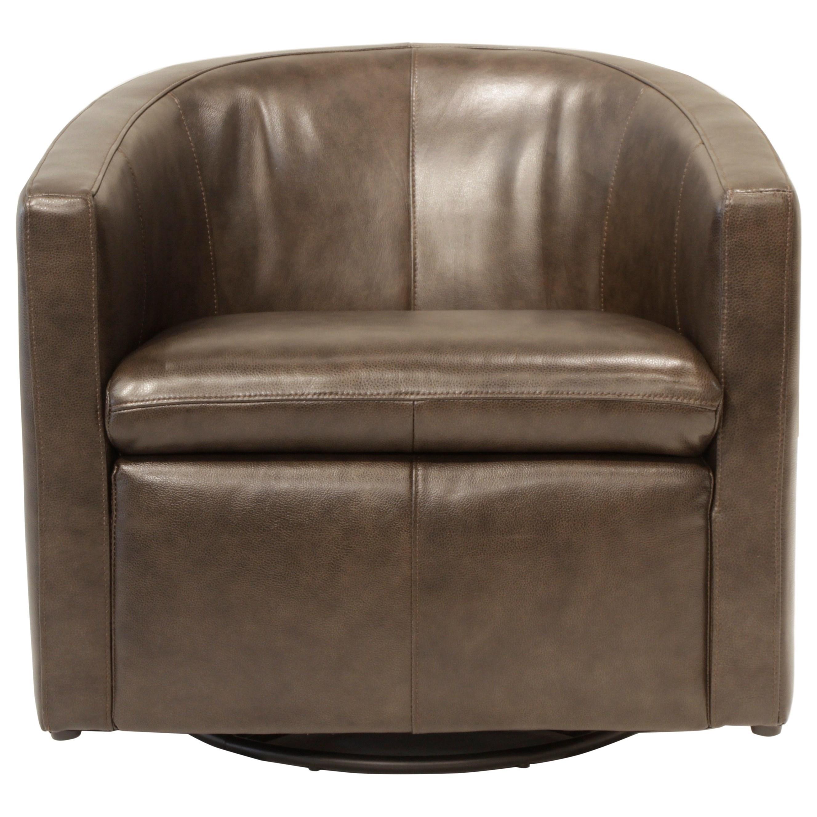 Futura Leather ArcadiaSwivel Glider Chair ...