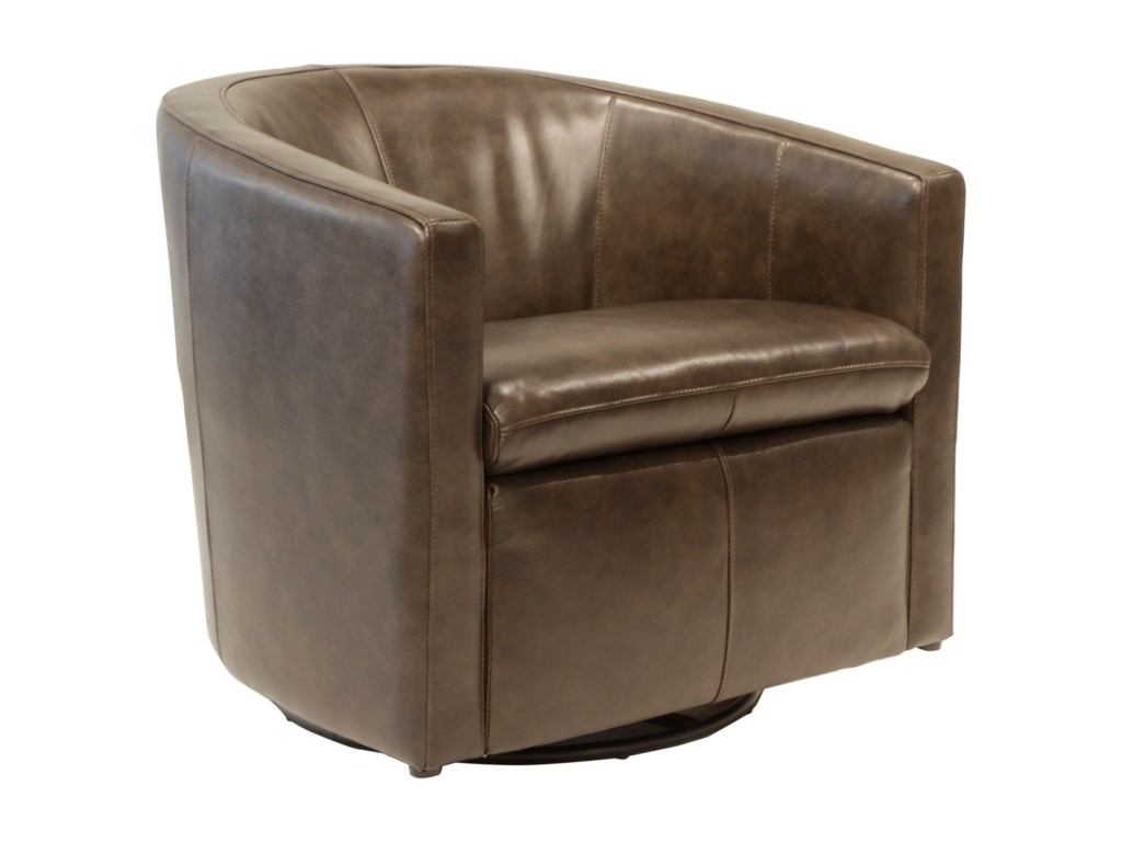 Futura Leather ArcadiaSwivel Glider Chair