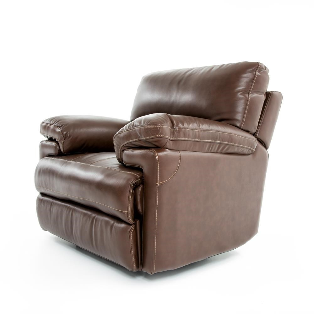 Futura Leather E687 114175993 Electric Motion Recliner Chair with Pillow Arms  sc 1 st  Baeru0027s Furniture & Futura Leather E687 Electric Motion Recliner Chair with Pillow ... islam-shia.org