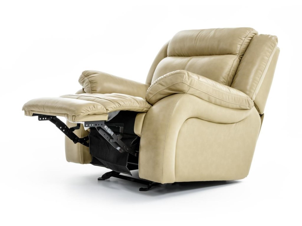 Futura Leather m771Glider Recliner