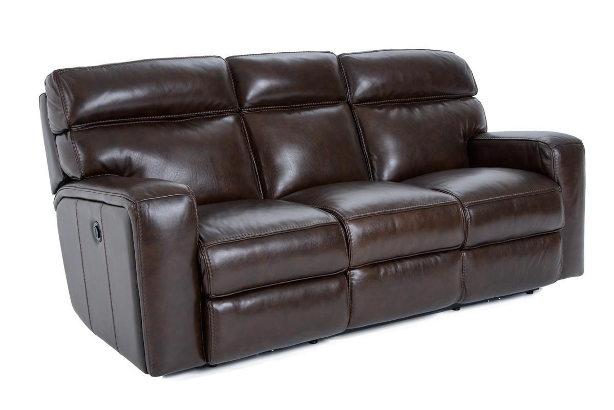 Futura Leather E879 Electric Motion Sofa W/ 2 Mechanisms   Baeru0027s Furniture    Reclining Sofas
