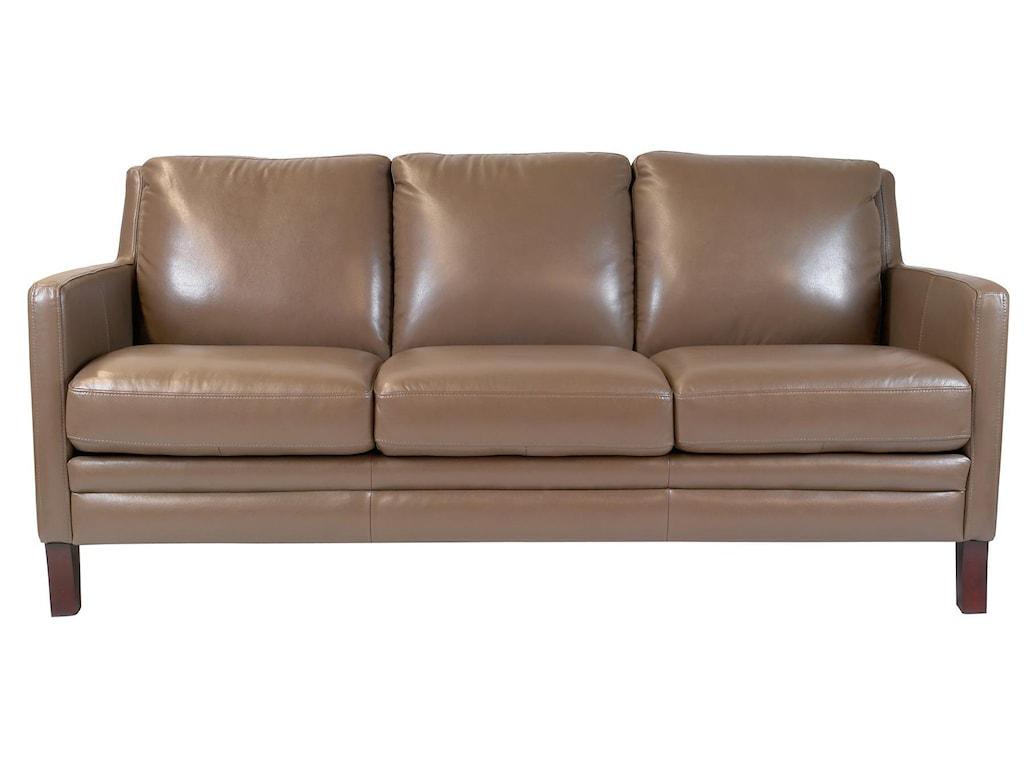 Futura Leather Maximcontemporary Sofa