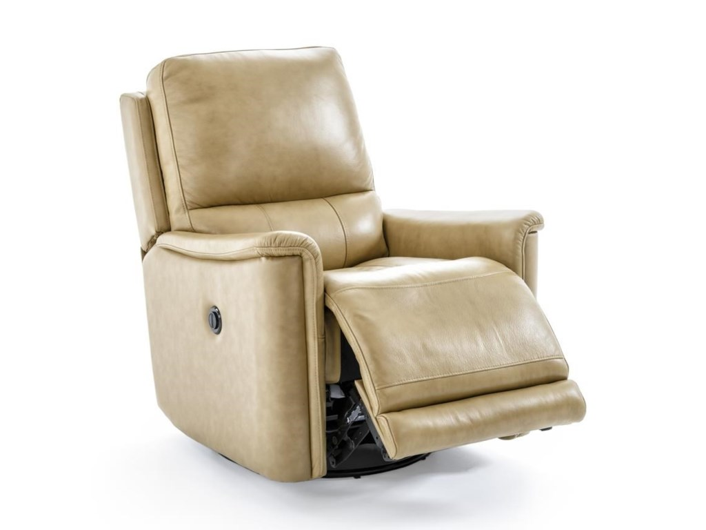 Futura Leather PB1152Electric Glider Swivel Recliner
