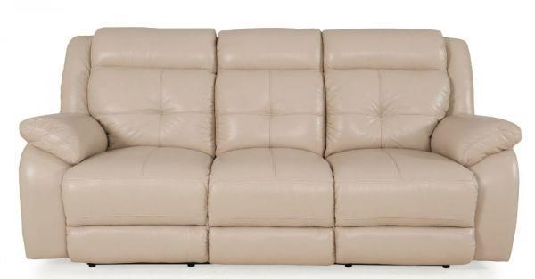 pebble power reclining sofa by futura leather