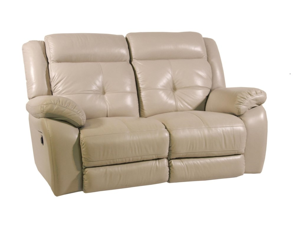 Futura Leather PebblePower Reclining Loveseat