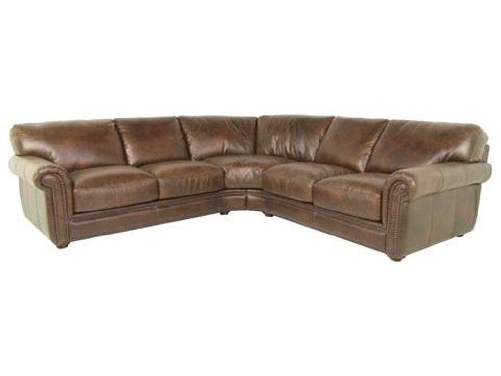 Dante Leather Sprintz DanteSectional