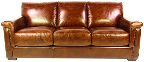 Dante Leather Sprintz Sofa