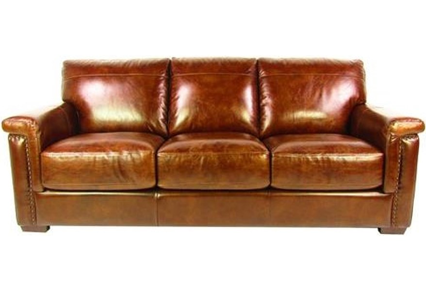 Sprintz Dante Leather Sofa