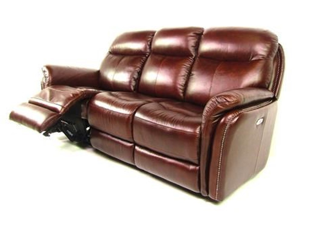 Dante Leather Sprintz DanteReclining Sofa