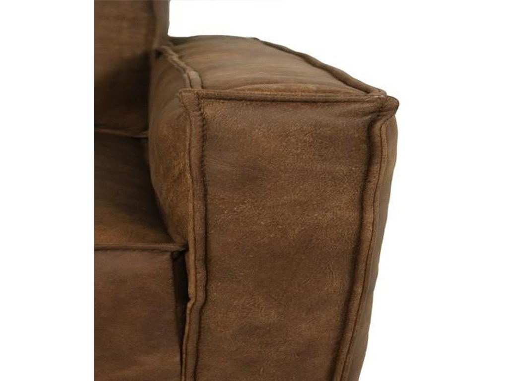 Dante Leather Sprintz DanteLeather Swivel Chair