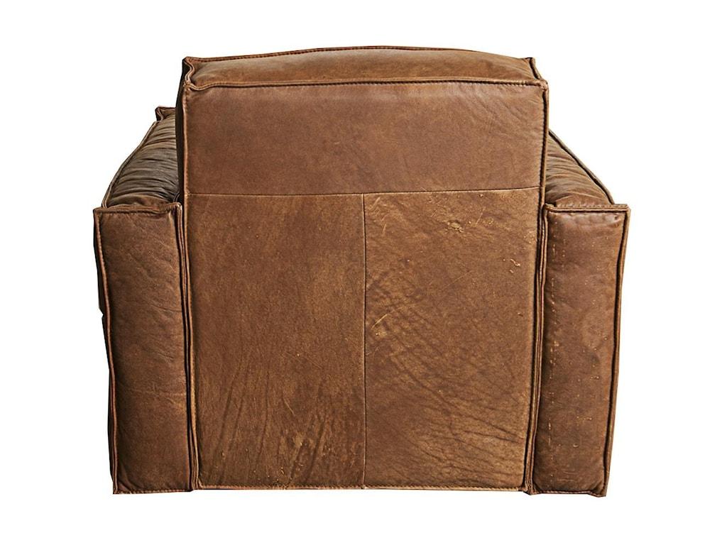 Morris Home Furnishings WesleyWesley 100% Leather Glider