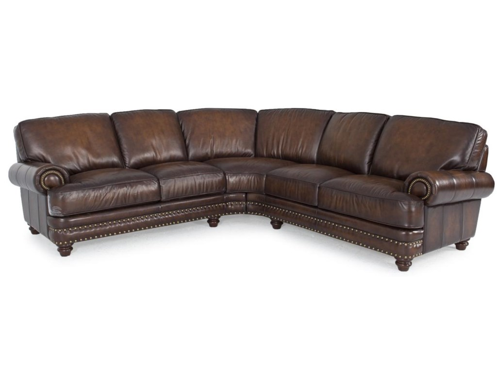 Futura Leather Westbury Leathersectional