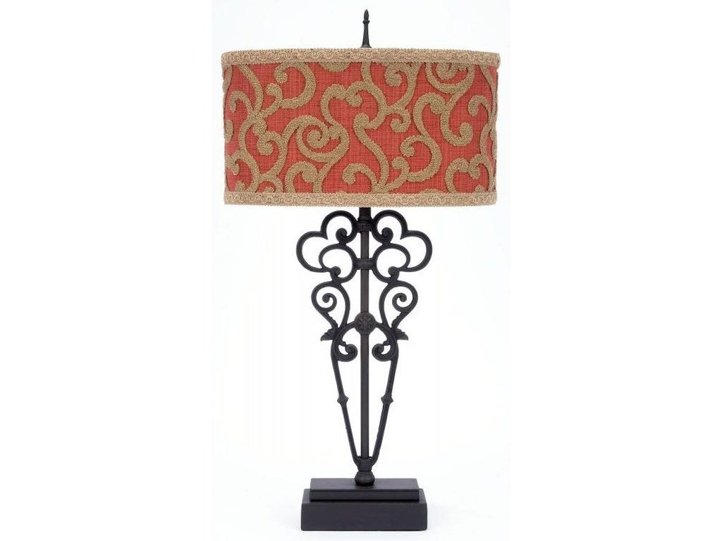 Gallery Designs Lighting Table LampChenille Table Lamp