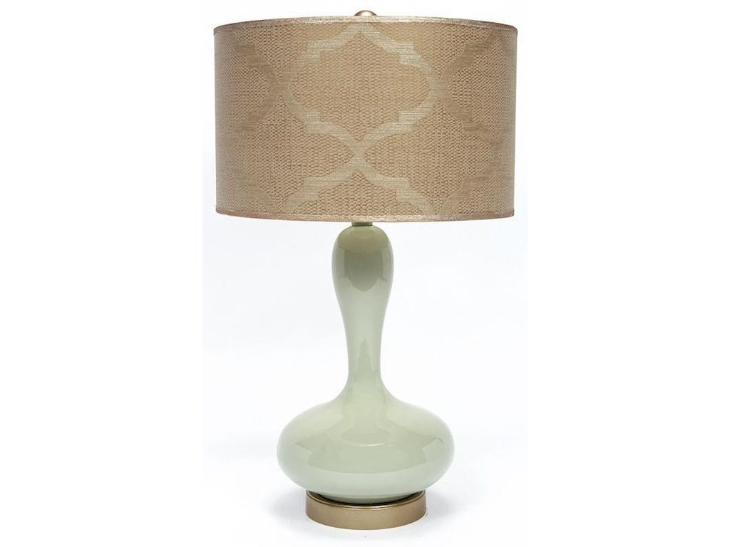Gallery Designs Lighting Table LampAncient Jade Ceramic Lamp