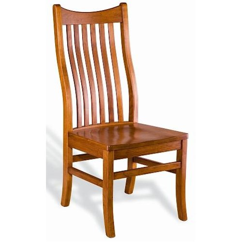 Greenbrier Dining Quincy Solid Wood Side Chair
