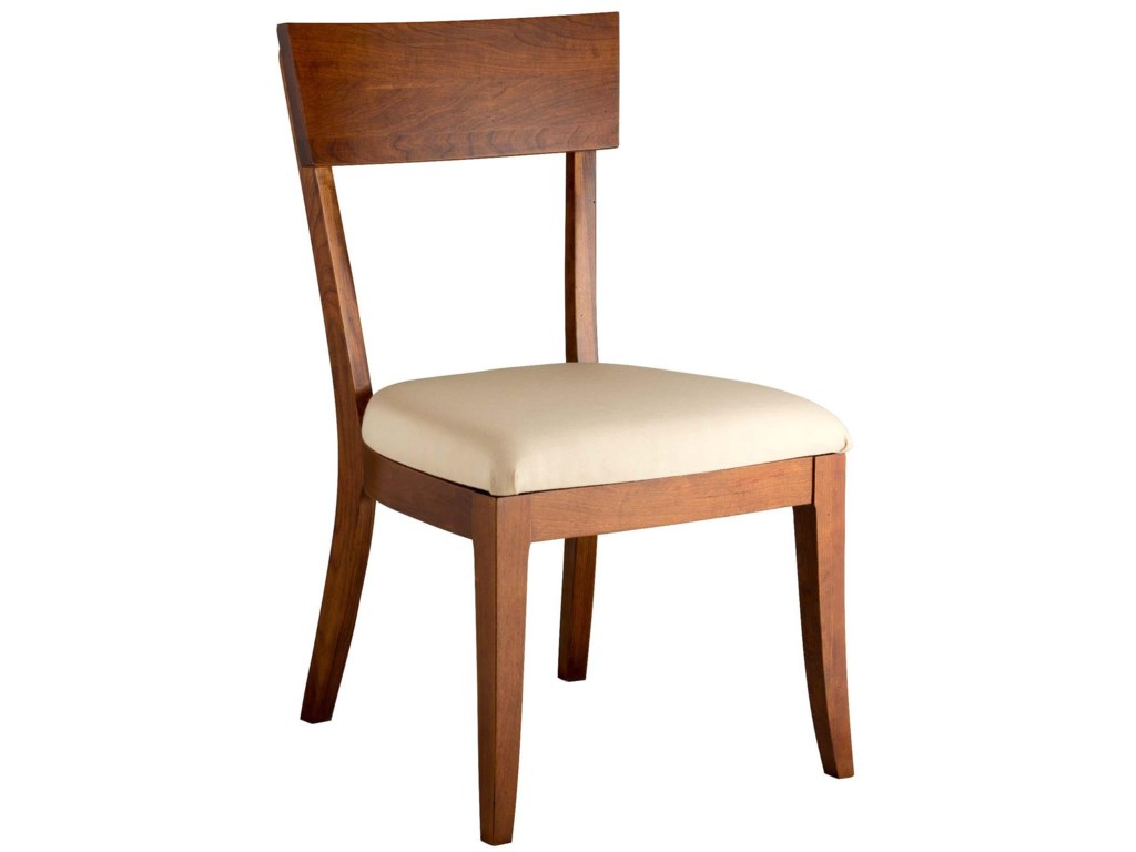 Greenbrier DiningBella Side Chair with Upholstered Seat