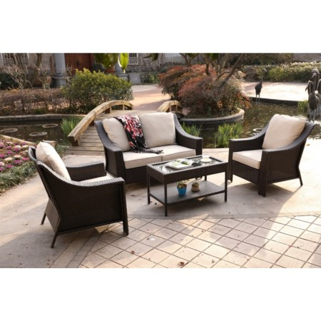 4 Piece Outdoor Set