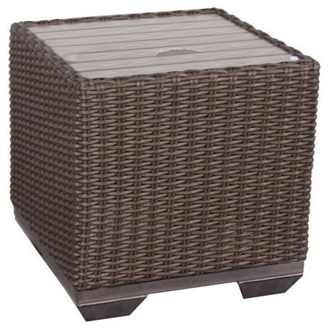 Gatherings Brookstone Outdoor Cube End Table
