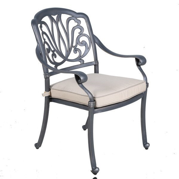 Gatherings Geneva Dining Arm Chair With Cushion