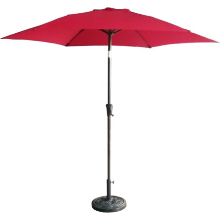 9' Red Umbrella