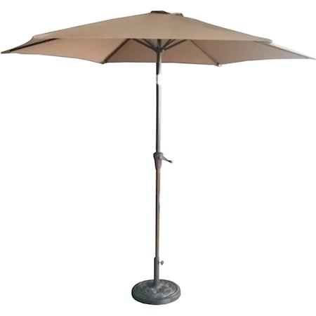 9' Taupe Umbrella