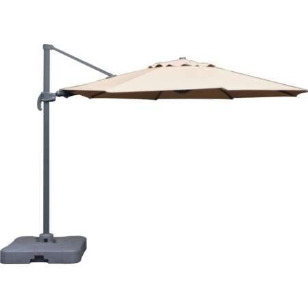 11' Taupe Cantilever Umbrella