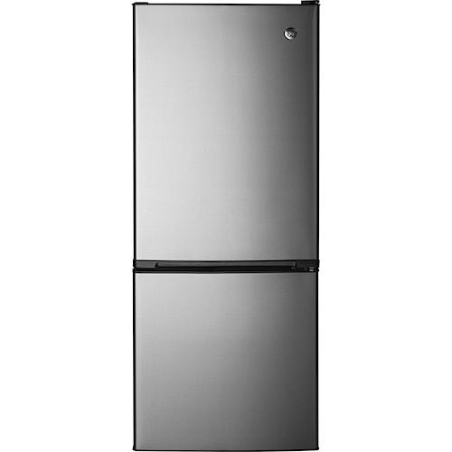 GE Appliances Bottom-Freezer Refrigerators ENERGY STAR® 10.5 Cu. Ft. Bottom-Freezer Refrigerator