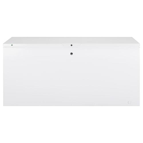 GE Appliances Chest Freezer 21.6 Cu. Ft. Manual Defrost Chest Freezer