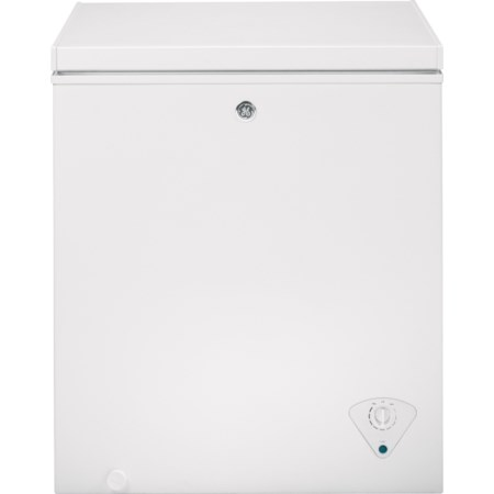 5.0 Cu. Ft. Manual Defrost Chest Freezer