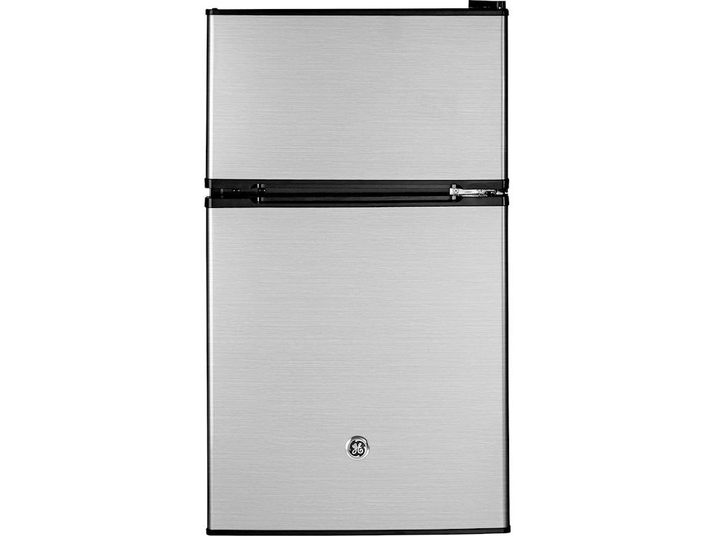 GE Appliances Compact Refrigerators - GEGE® Double-Door Compact Refrigerator