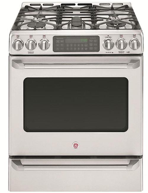 GE Appliances Dual-Fuel Ranges Cafe 30