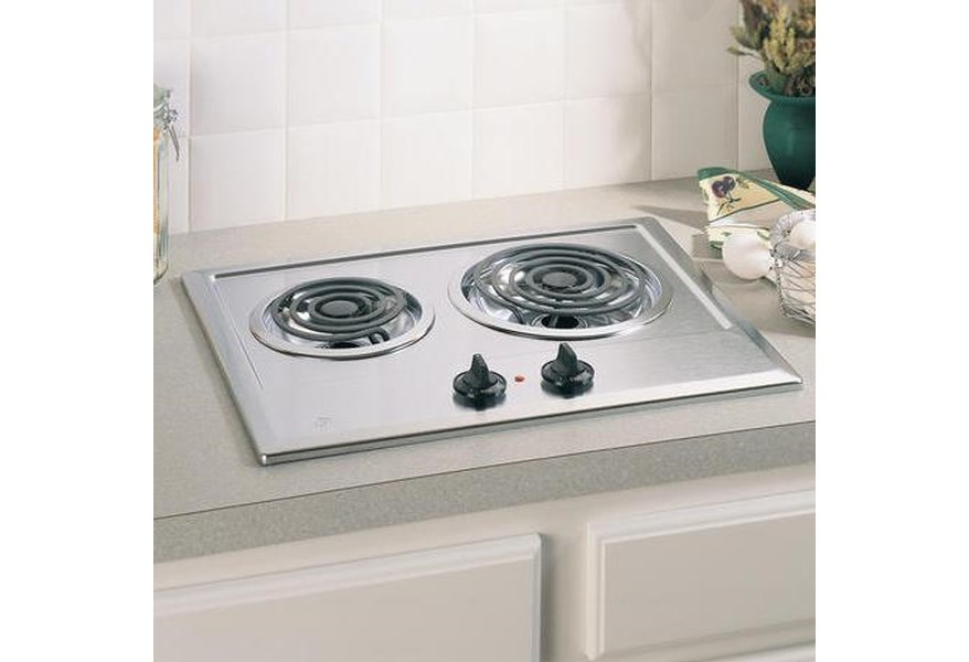 Ge Liances 21 Built In Electric Cooktop With 2 Coil Elements