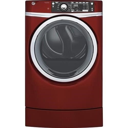 GE Appliances Electric Dryers - GE 8.3 cu. ft. capacity Front Load Electric ENERGY STAR® Dryer with Steam