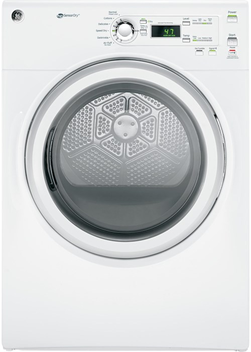 GE Appliances Electric Dryers - GE Long Vent 7.0 cu. ft. Capacity Electric Dryer