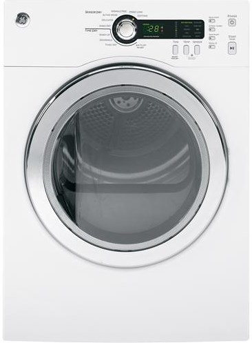 GE Appliances Electric Dryers  4.0 Cu. Ft. Front Load Electric Dryer with Sensor Dry