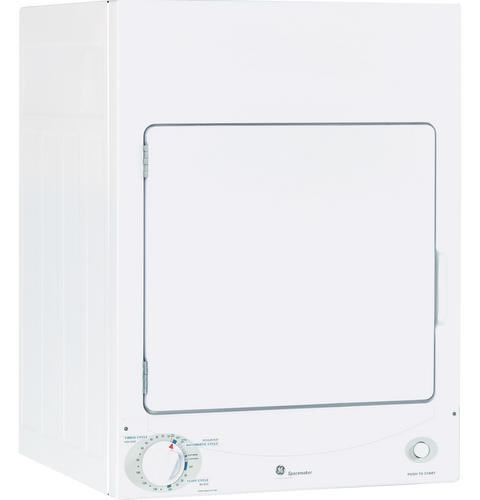 GE Appliances Electric Dryers 3.6 Cu. Ft. Stationary Electric Dryer