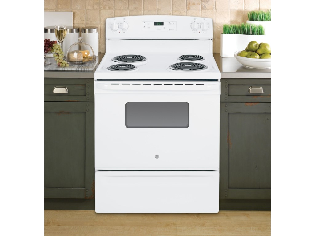 GE Appliances Electric Range 30