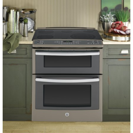 """Profile™ 30"""" Slide-In Double Oven"""
