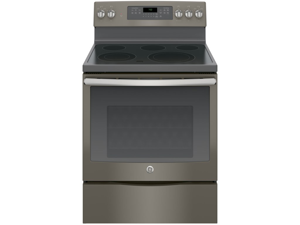 30 Free Standing Electric Convection Range By Ge Liances