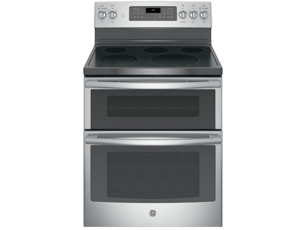 30 Free Standing Electric Double Oven Convection Range By Ge Liances