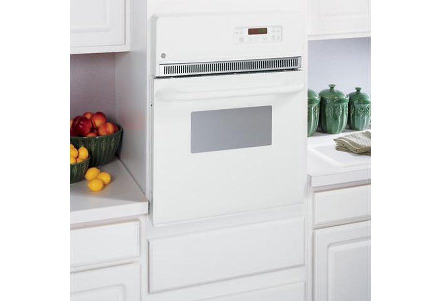 Ge Liances Jrp20wjww 24 Single Electric Self Cleaning Wall