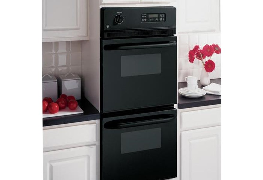 Ge Liances Jrp28bjbb 24 Built In Double Wall Oven With 2 7