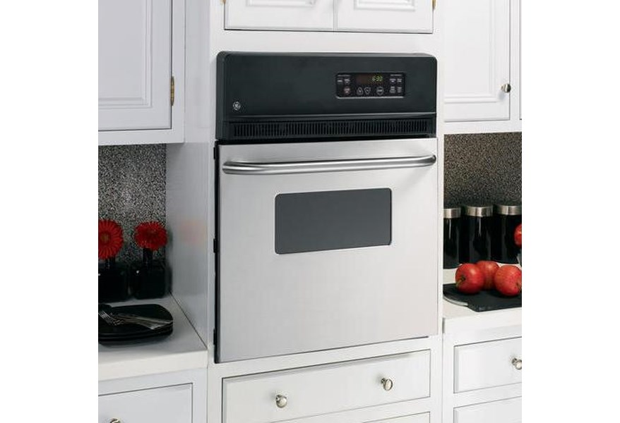 Ge Liances 24 Built In Single Electric Wall Oven With 2 7 Cu