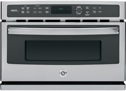 GE Appliances Electric Wall Oven Profile™ Series Advantium® 120V - 27 in. Electric Wall Oven with Speedcook Technology