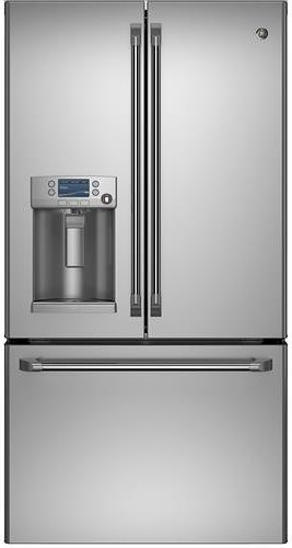 GE Appliances French Door Refrigerators GE Cafe™ Series ENERGY STAR® 27.8 Cu. Ft. French-Door Ice & Water Refrigerator
