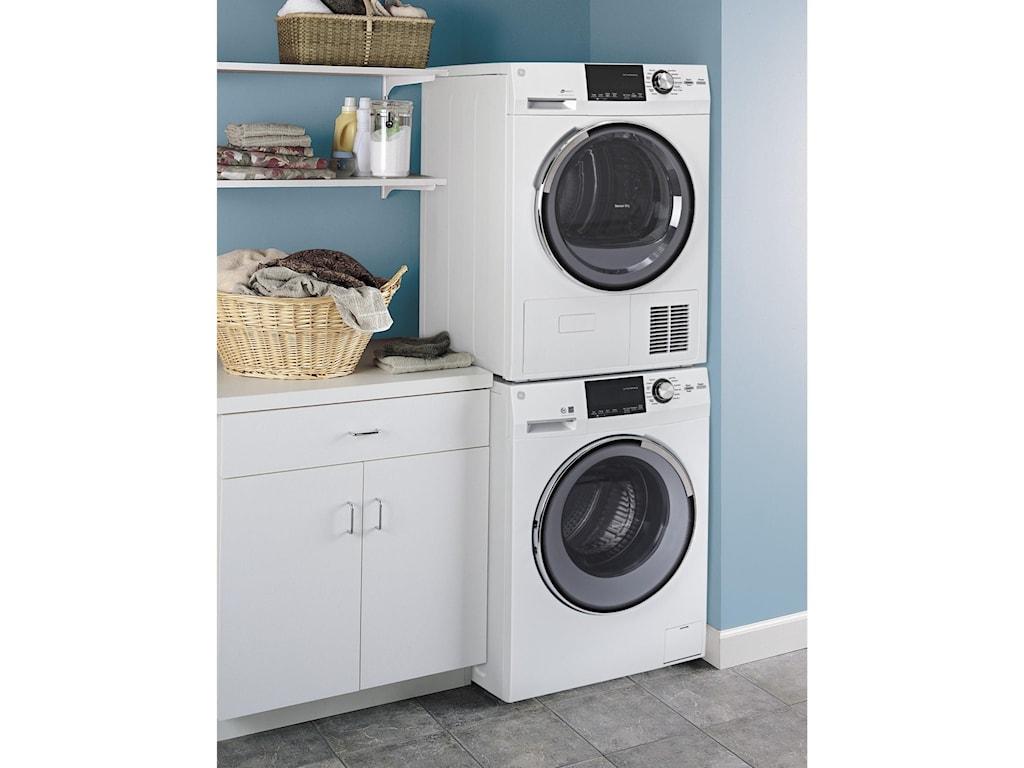 GE Appliances Front Load Washers - GE2.4 DOE Cu. Ft. Frontload Washer