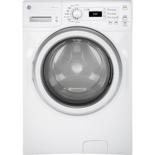 GE Appliances Front Load Washers - GE GE® ENERGY STAR® 4.1 DOE Cu. Ft. Capacity Frontload Washer