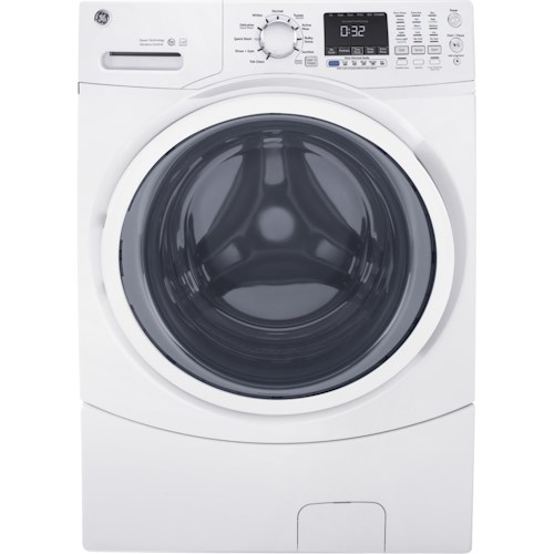 GE Appliances Front Load Washers - GE GE® ENERGY STAR® 4.5 DOE Cu. Ft. Capacity Frontload Washer with Steam